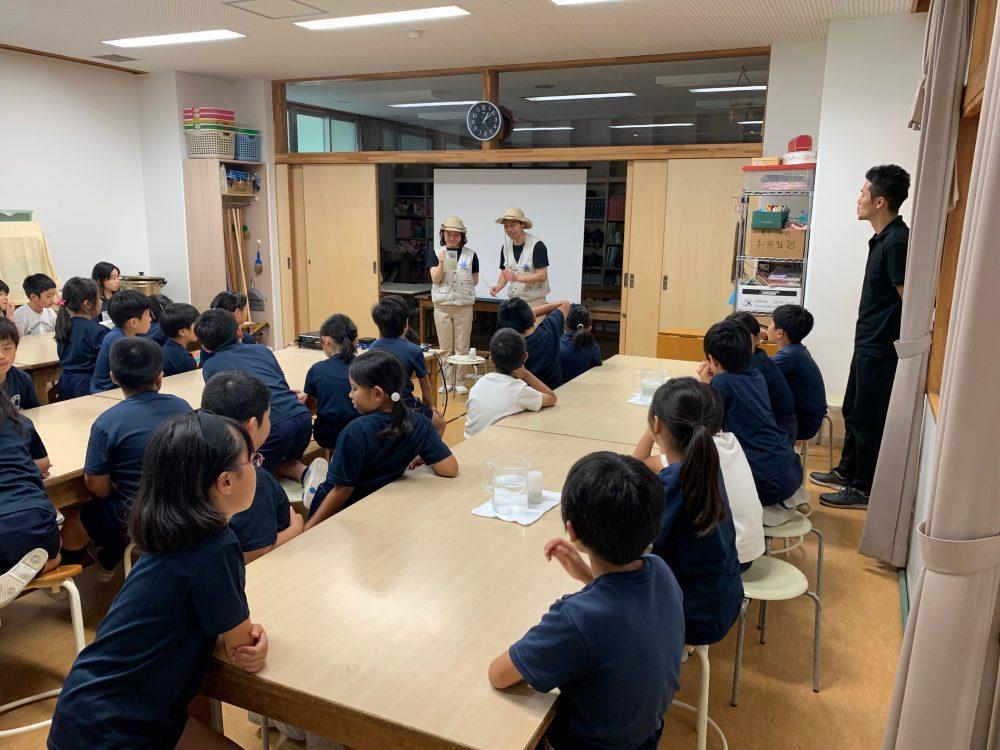 東京の水は、すごい。4年生の学習
