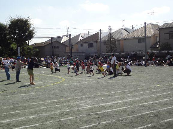 運動会 良い天気でした